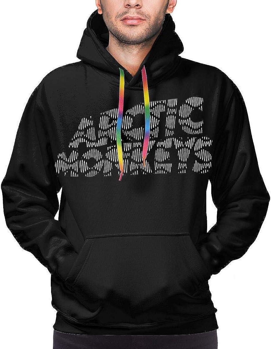 Arctic Monkeys Logo Soft 3D Printed Hip Hop Pullover Men Hooded Sweatshirt