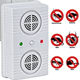 Pest Revolter Mice, Rodent, Cockroach And Rat Repellent Ultrasonic Device - Best Humane Electronic Pest Control For Home