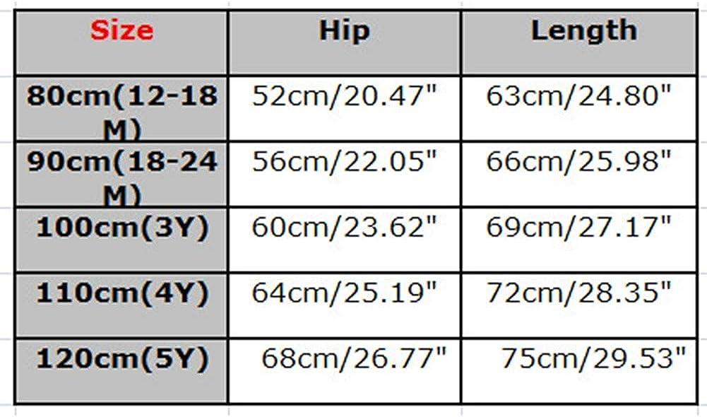 Unisex Adorabile Salopette a Maglia Allentato Casuale Salopette Casual Tuta Jumpsuit Bambine Ragazze 1-5 Anni Giallo//Rosso//Grigio//Blu//Marrone yunhou Salopette Bambini