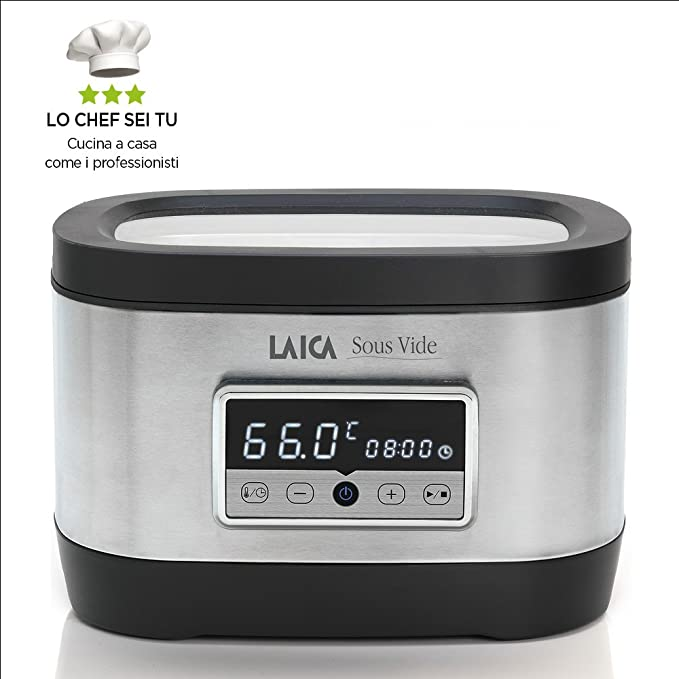 Laica SVC200 Sous vide plata/negro, Acero Inoxidable: Laica ...