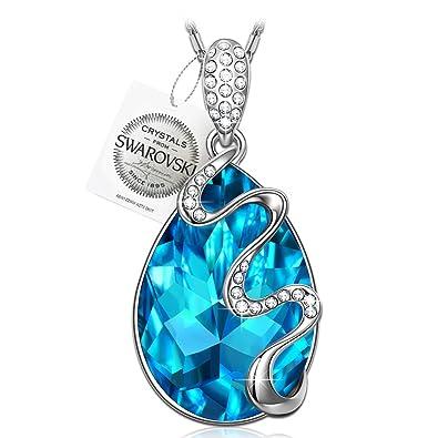 Pauline morgen venice dream blue swarovski elements crystal pauline morgen quotvenice dreamquot blue swarovski elements crystal white gold aloadofball Choice Image