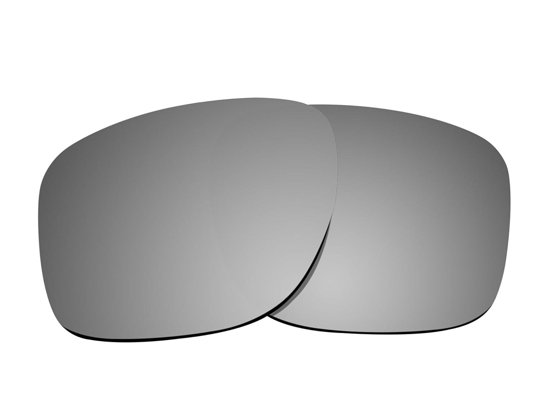 ブランド新しい1.5 MM littlebird4偏光交換レンズOakley Sliver Sunglasses – 複数のオプション B078K94D9G シルバー ミラー シルバー ミラー