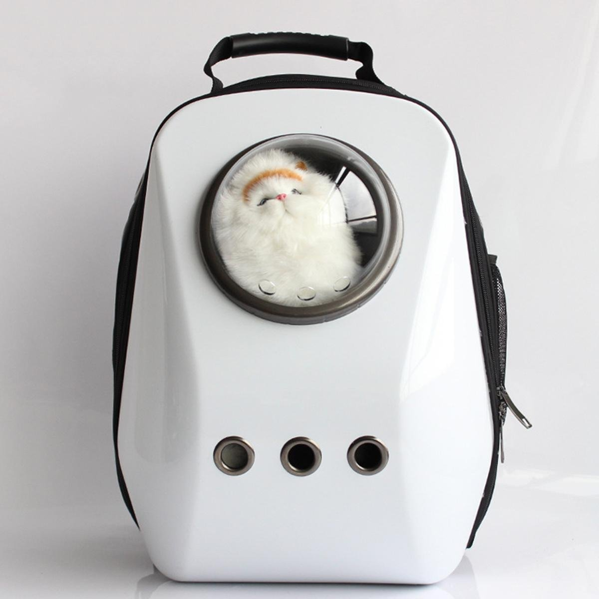 Pet Carriers Traveler Bubble Backpack Airline Travel Approved Carrier for Cats and Dogs , D