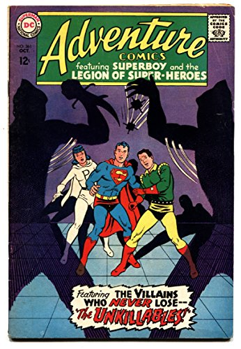 (Adventure Comics #361 1967 DC Silver Age- Legion of Super Heroes FN)
