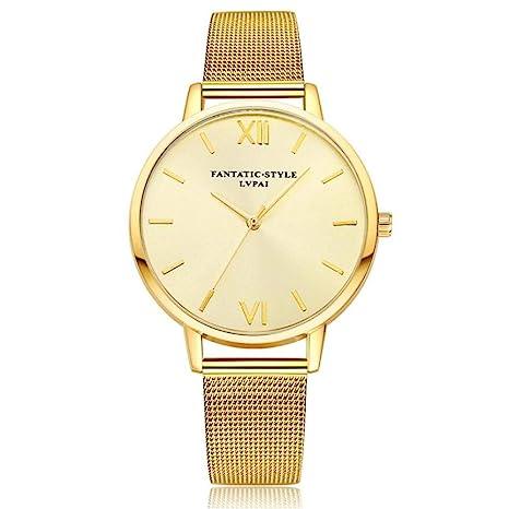 Amazon.com: naivety - Reloj de pulsera para mujer, de cuarzo ...