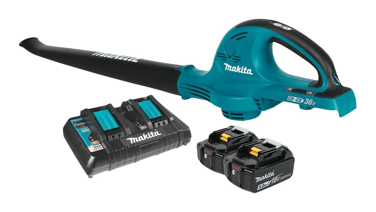Makita XBU01PT 18V X2 (36V) LXT Lithium-Ion Cordless Blower Kit (5.0Ah)