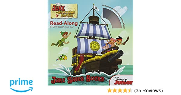 Jake and the Never Land Pirates Read-Along Storybook and CD: Jake