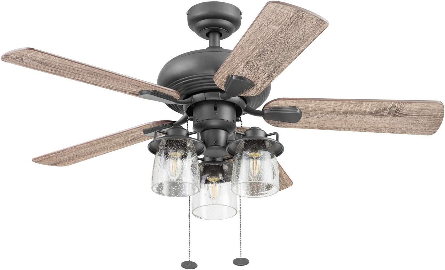 Prominence Home 51431-01 Crown Ceiling Fan, 42, Bronze