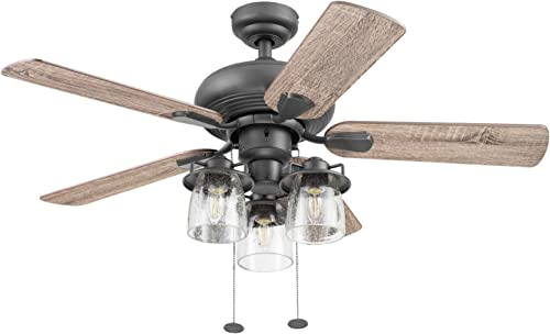 Prominence Home 51431-01 Crown Ceiling Fan