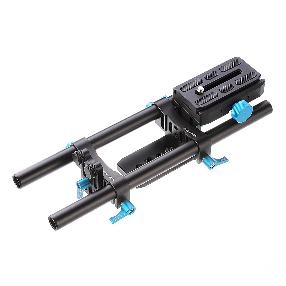 Fotga DP500 II DSLR Quick Release 15mm Rod Rail Support for Follow Focus Arca PU60 and Mattebox NICNA IMAGIN SYSTEM INTERNATIONAL HOLDING CO.LIMITED DP006