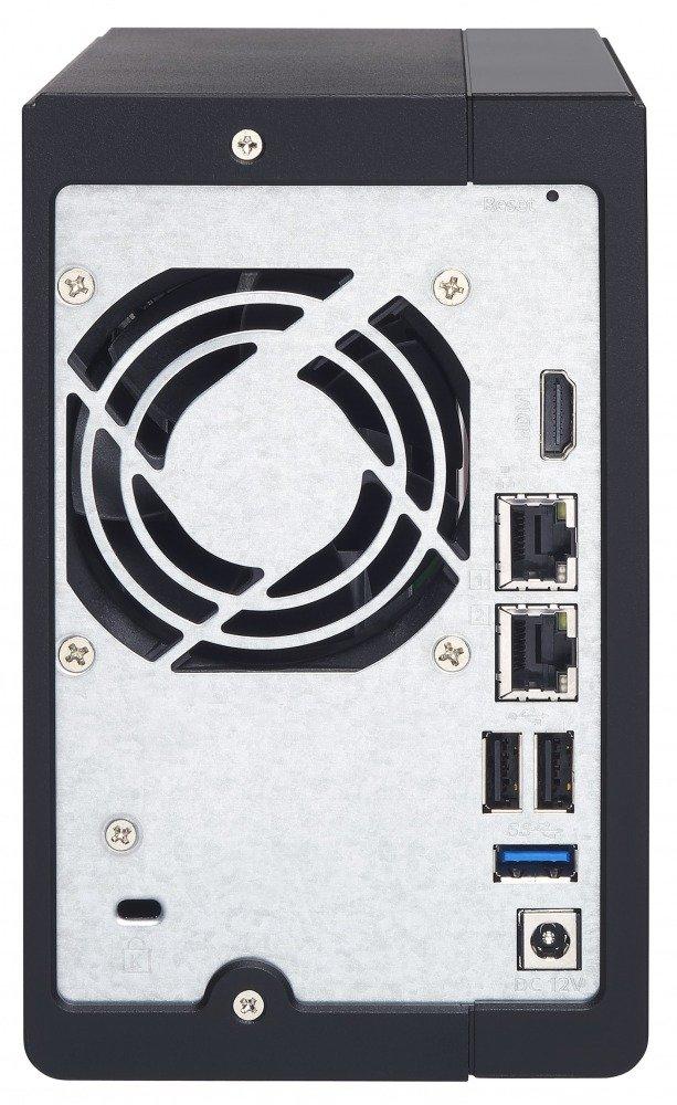 QNAP TS-251+ - Dispositivo de Almacenamiento en Red NAS (Intel Celeron, 2 GB RAM, 2 x USB 3.0, SATA II/III, Gigabit), Negro: Amazon.es: Informática
