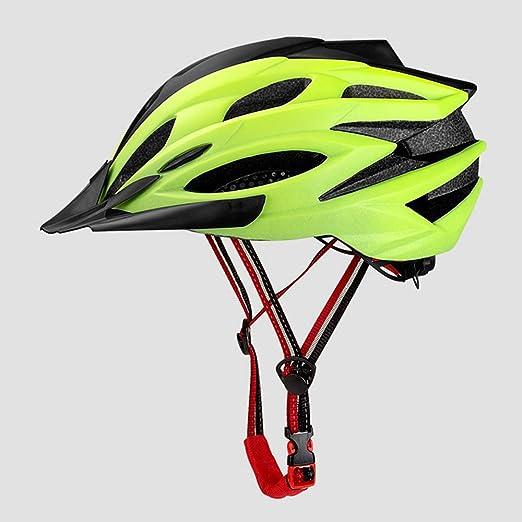 SRUN Casco Bicicleta Adulto De Montaña Ajustable con Visera ...