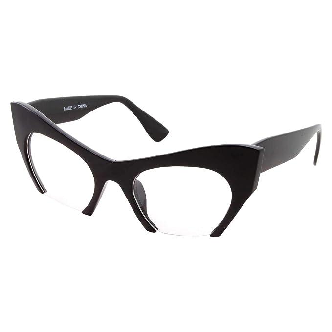 Amazon.com: Gafas semirretráctiles para ojo de gato, lentes ...