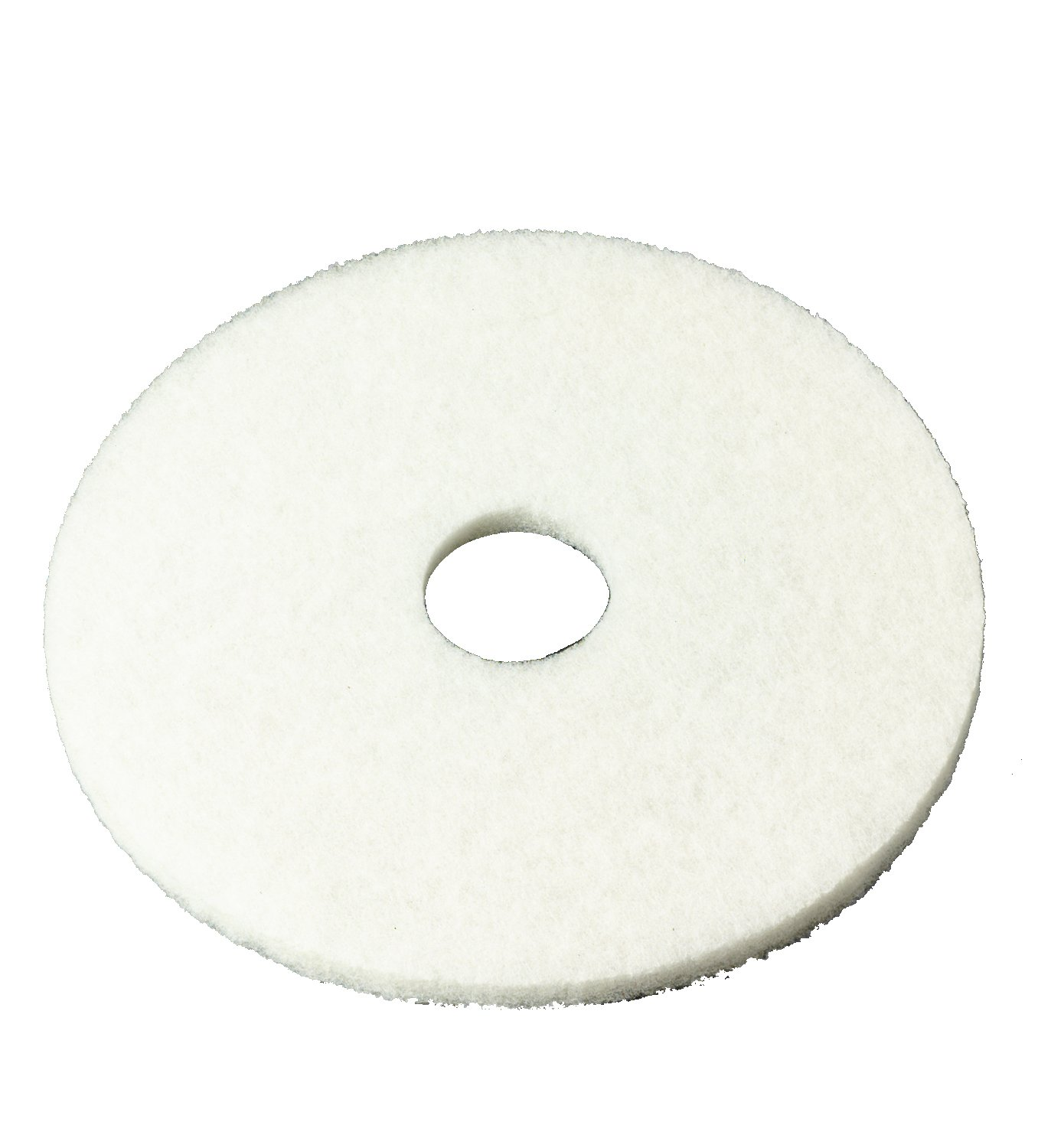 3M 4100 Series White Super Polish Pad, 11'' (Case of 5) by 3M