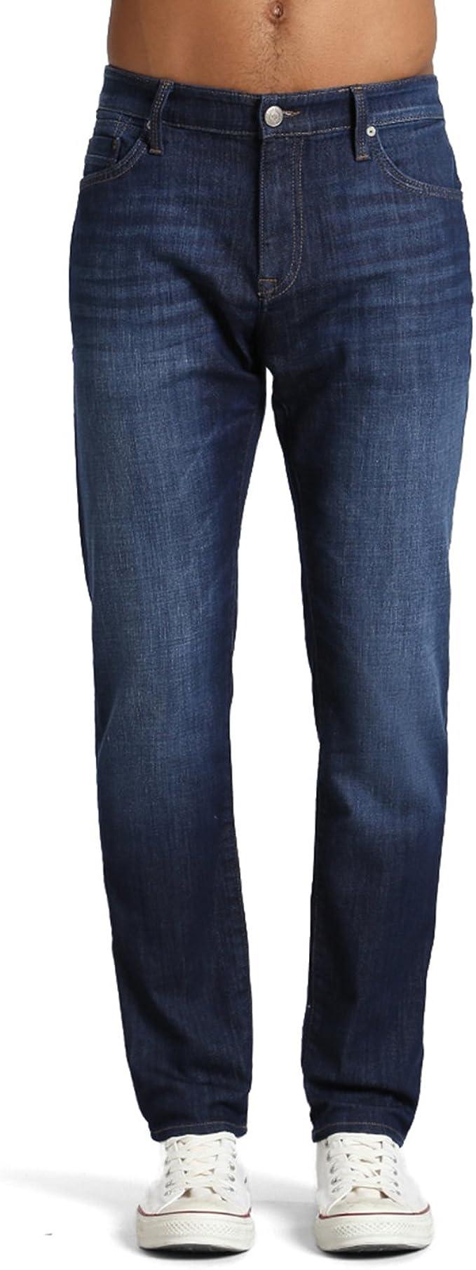 Used Look Men/'s Jeans Pants Regular Slim Mavi Blue Marcus