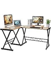 LASUAVY L Shaped Computer Desk …