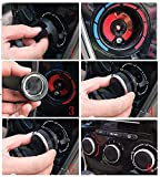 Thor-Inst Pack of 3 Car Interior A/C Fan Air