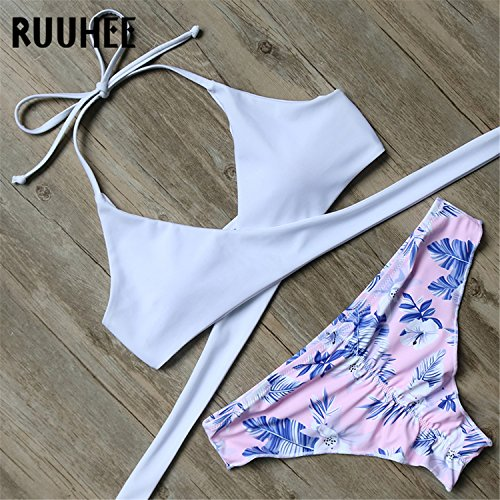 Suit For Suit Push Women Bikini Bandage Beachwear Bikini L B613RE Women Swimsuit Padded Swimming 2018 Up Bathing Sexy Set Swimwear xPaZw