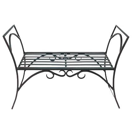 Amazon Com Achla Designs Wrought Iron Decorative Garden Arbor