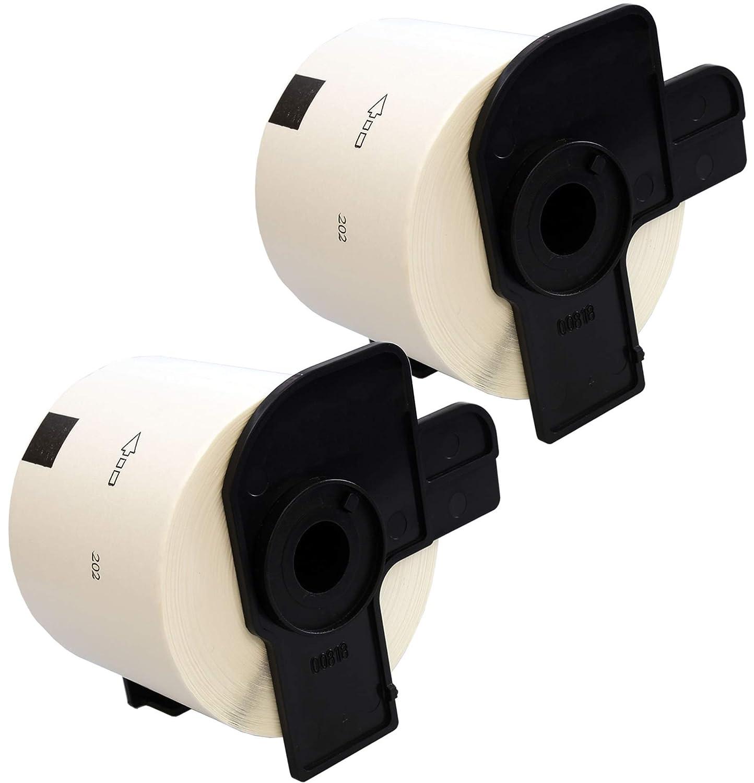 300 DRUCKER ETIKETTEN 62x100mm STANDARD für BROTHER P-touch QL-1060N