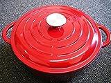 Chef-Quality-Cast-Iron-Dutch-Oven-5-QT-Enamel-Dutch-Oven-Pot-Red