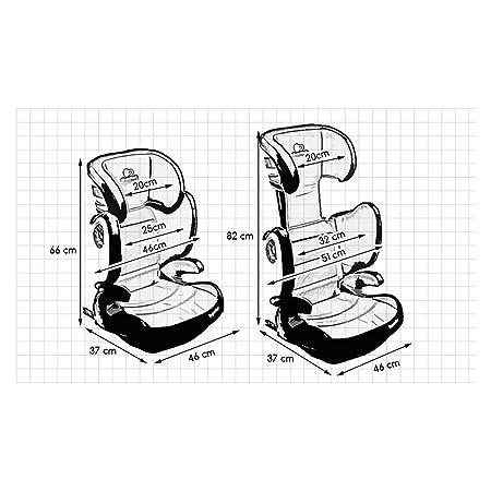 Kinderkraft Expander Booster Isofix Car Seat Group 23 15 36 Kg