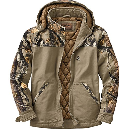 Review Legendary Whitetails Canvas Cross Trail Workwear Jacket Stone X-Large