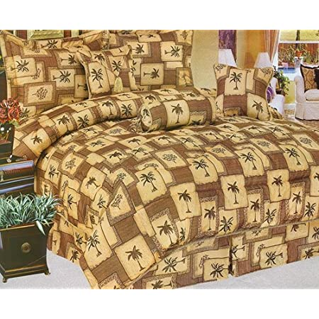 61Lfa9q9yiL._SS450_ The Best Palm Tree Bedding and Comforter Sets