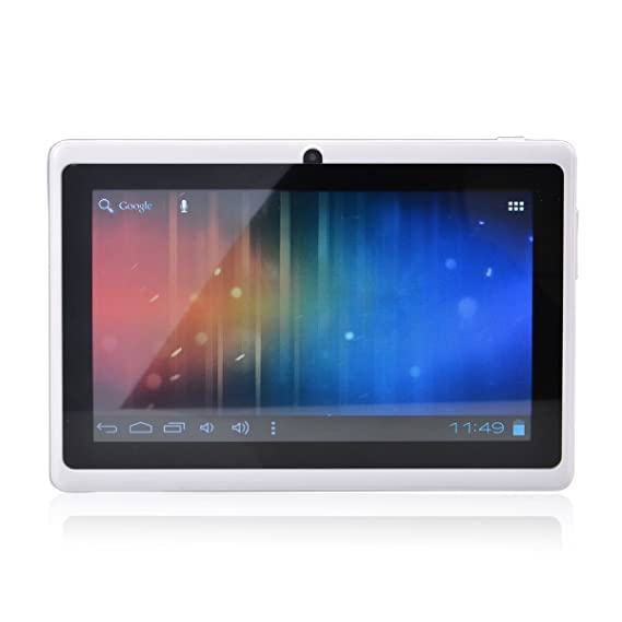 LélikTec Allwinner A13 – Tablet táctil – Disco Duro de 4 GB HDD – Procesador 1.0 GHz – RAM 512 MB – WiFi – Android 4.0.4 (Ice Cream Sandwich OS) – ...