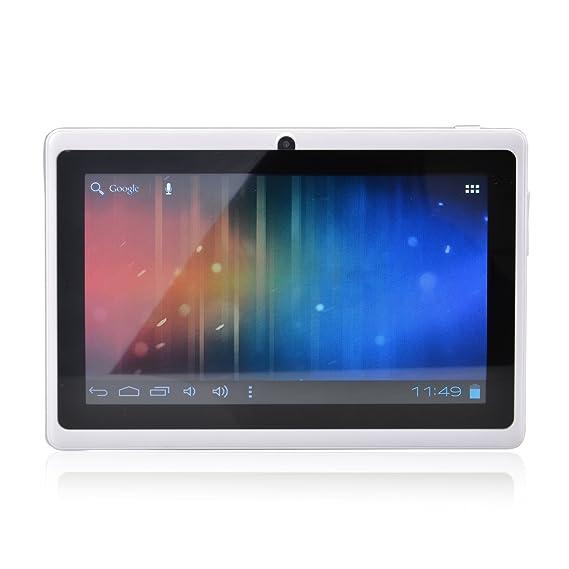LélikTec Allwinner A13 – Tablet táctil – Disco Duro de 4 GB HDD – Procesador 1.0 GHz – RAM 512 MB – WiFi – Android 4.0.4 (Ice Cream Sandwich OS) – ...