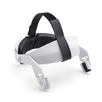 POHOVE VR Headset for Oculus-Quest 2,All-In-One Adjustable Virtual Reality Headset Strap for Oculus-Quest 2 Head Cushion Protective Strap Headband Virtual Reality Accessories