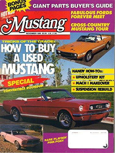 - Mustang Magazine, November 1989 (Vol. 7, No. 6)