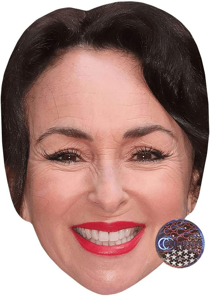 Celebrity Cutouts Samantha Spiro Smile Big Head Larger Than Life Mask Amazon Co Uk Toys Games