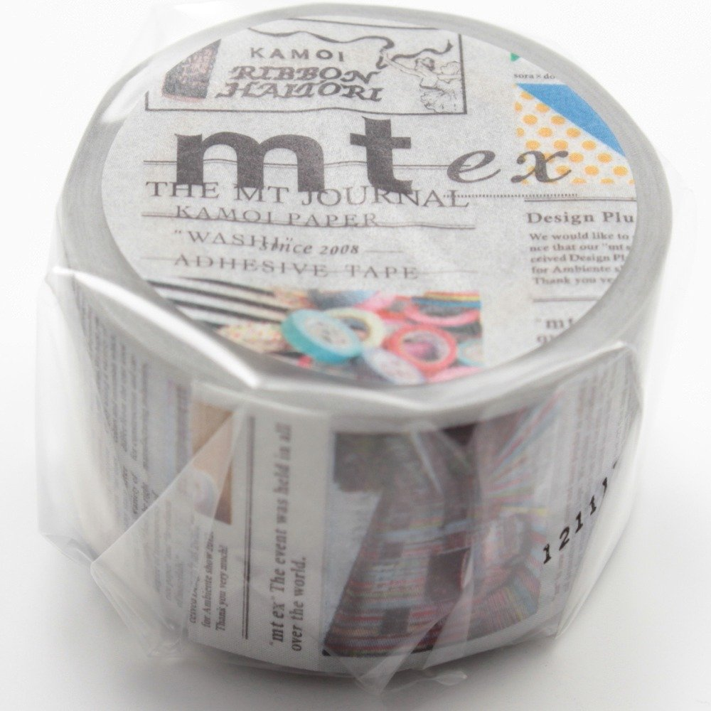 Mt Washi Masking Tape Ex English-Language Newspaper (MTEX1P75) NaSh-Design