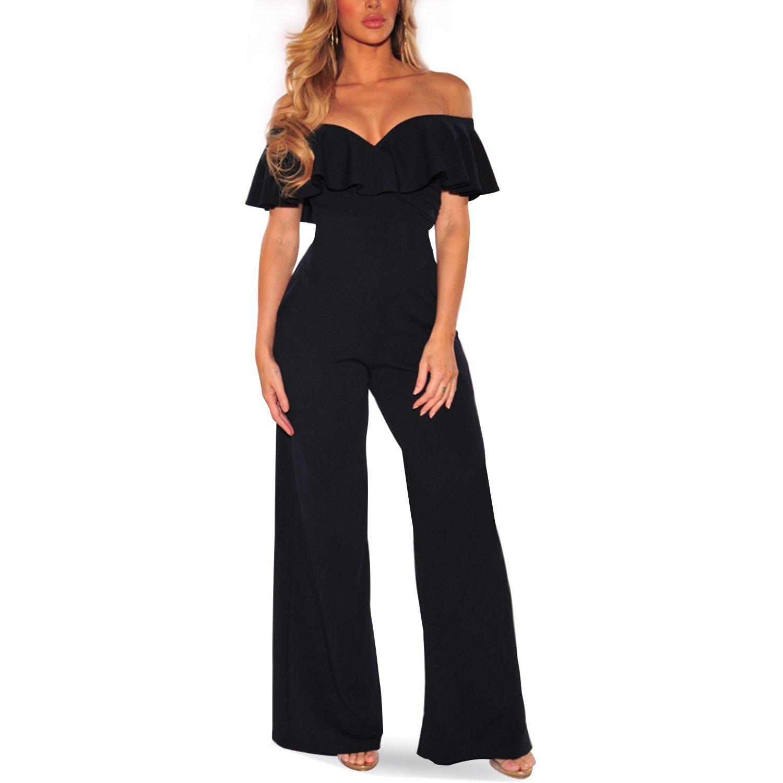 df52e0d33680 Amazon.com  Cosics Womens Romper Pants