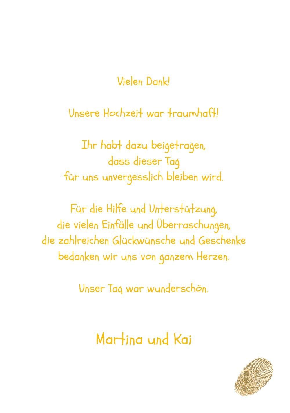 Kartenparadies Danksagung Danksagung Danksagung für Hochzeitsgeschenke Hochzeit Dankeskarte fingerprint, hochwertige Danksagungskarte Hochzeitsglückwünsche inklusive Umschläge   20 Karten - (Format  105x148 mm) Farbe  RosaLila B01MUD2A0M   Genial    Gutes  857c0a