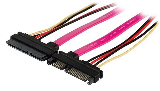 4 opinioni per Valueline VLCP73125V05 Cavo Prolunga SATA 7+15 Pin Maschio- Femmina, 0.5 m,