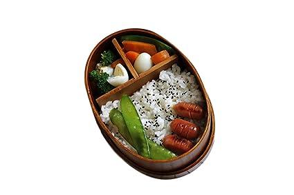 ZXMXY herramientas de cocina Caja de almuerzo de madera individual Caja de almuerzo de salud ambiental