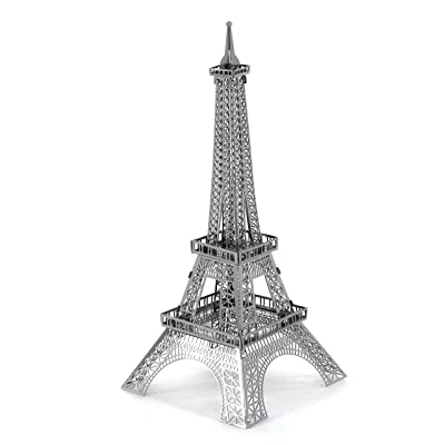 fascinations Metal Earth Eiffel Tower 3D Metal Model Kit: Toys & Games