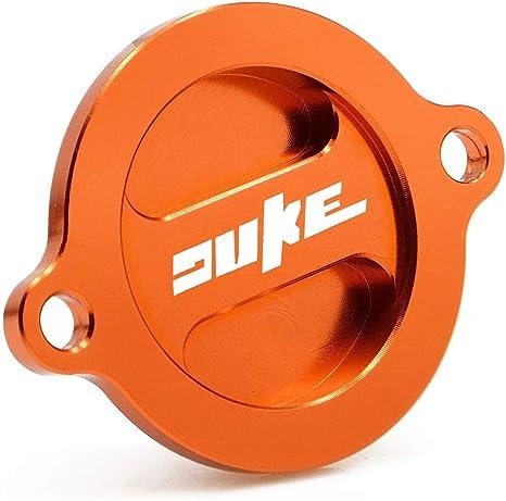 Cnc Aluminium Motor Ölfilter Abdeckkappe Für K T M Duke 125 200 390 2011 2015 Duke690 R 2008 2020 Duke790 2018 2020 Duke 890r 2020 Auto