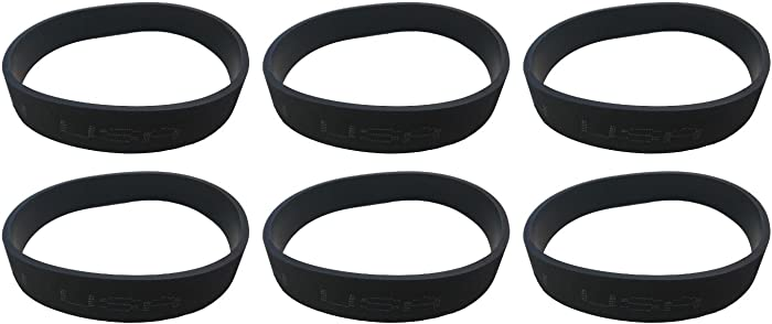 6 Belts Fit Riccar SupraLite RSL1 RSL1A RSL1AC RSL2 RSL3 RSL3C RSL4