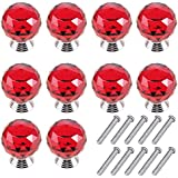 Mosong 10pcs 30mm Glass Clear Cabinet Knob Drawer Pull Handle Kitchen Door  Wardrobe Hardware Used For Cabinet, Drawer, Chest, Bin, Dresser, Cupboard,  ...