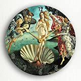 Cheap Botticelli's The Birth of Venus 12″ Silent Wall Clock