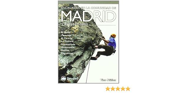 Escaladas en la comunidad de Madrid y alrededores: Amazon.es ...