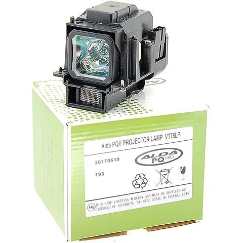 W600+ Projektorenen Lampenmodul mit Geh/äuse W600 MP670 Alda PQ Beamerlampe 5J.J0705.001 f/ür Benq HP3325