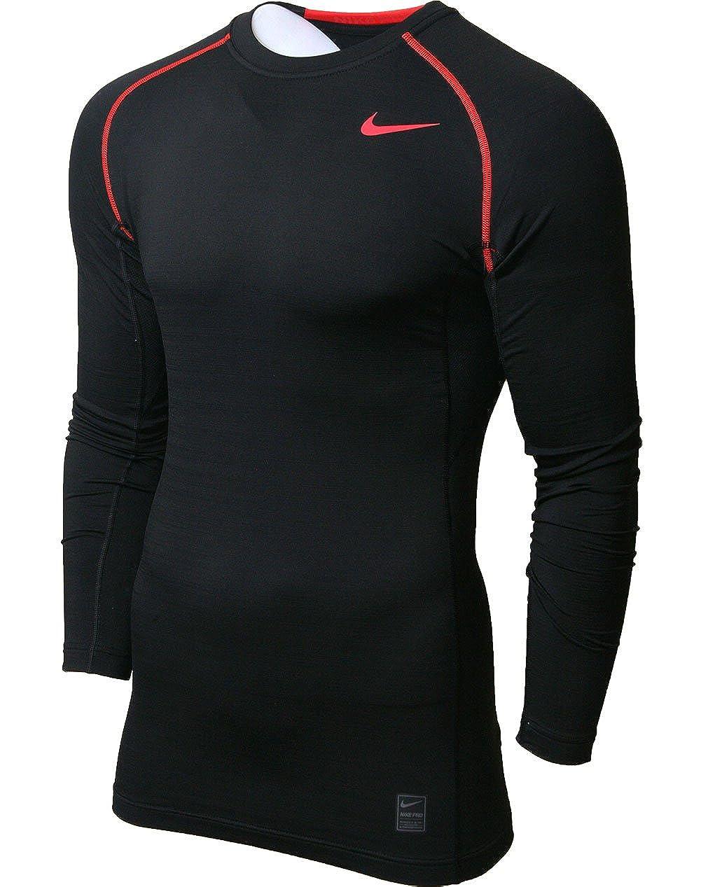 fc7f30bbe5c0 Nike Men s Pro Combat Hyperwarm Dri-FIT Max Fitted Men s Long-Sleeve Shirt