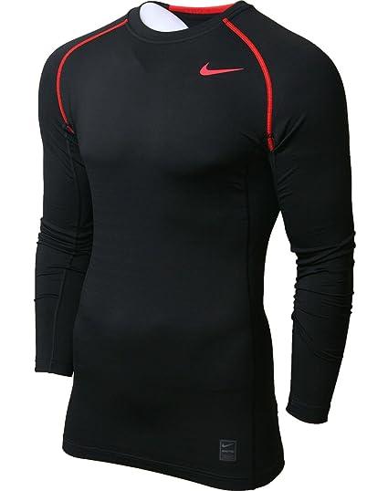 b3ba27167 Nike Men's Pro Combat Hyperwarm Dri-FIT Max Fitted Men's Long-Sleeve Shirt