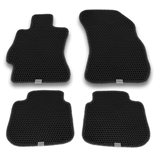 Floor Tiles Fit (Motliner Floor Mats, Custom Fit with Dual Layered Honeycomb Design for Subaru Outback Legacy 2015-2018. All Weather Heavy Duty Protection for Front and Rear. EVA Material, Easy to Clean.)