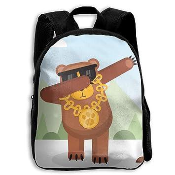 DaXi1 Mochilas Personalizadas para niños con diseño de Oso de Peluche, Ideal para Regalo: Amazon.es: Hogar
