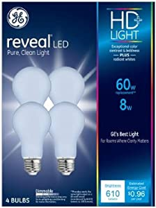 BULB LED A19 HD+ PURE 8W